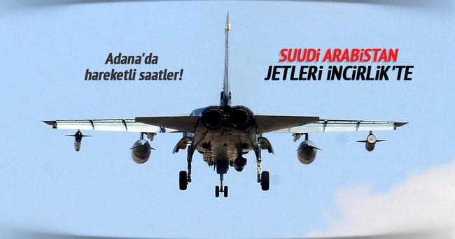Suudi Arabistan uçakları İncirlik'te