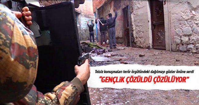 Telsiz konuşmaları PKK'da yaşanan çözülmeyi deşifre etti
