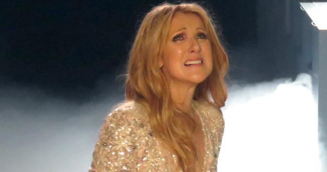 Celine Dion gözyaşlarına boğuldu