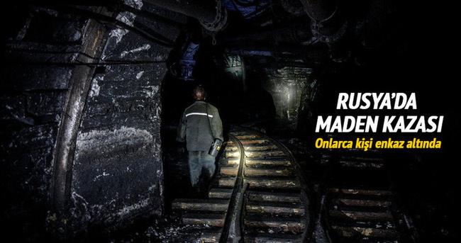 Rusya'da maden kazası: 90 kişi enkaz altında