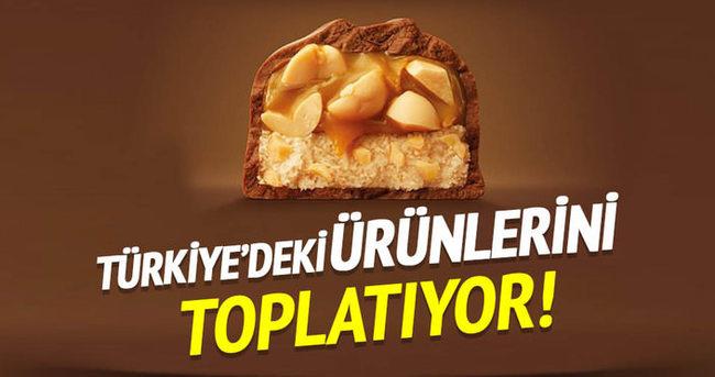 Türkiye'deki ürünlerini geri toplatıyor