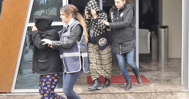 Tacizci hırsız kadınlar yakalandı!