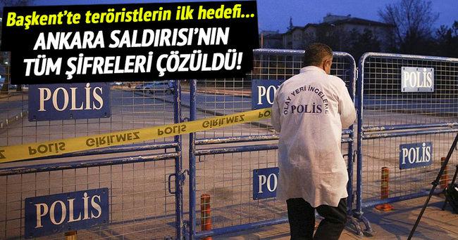 Başkent'te teröristlerin ilk hedefi...