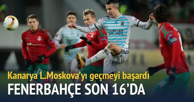 Fenerbahçe son 16'da
