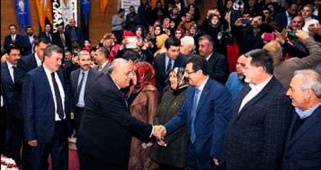 Türkeş, Keçiören toplantısındaydı