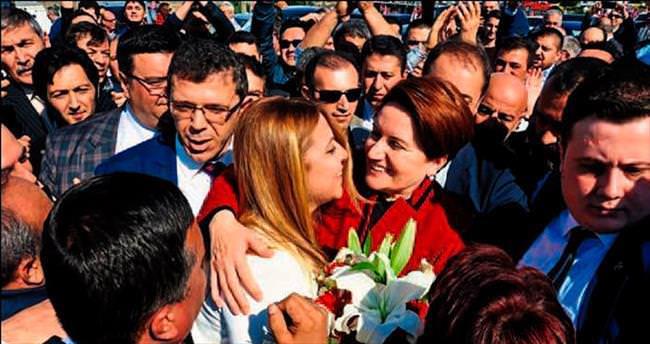 Denizli MHP'de Akşener heyecanı