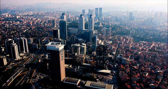 Şehir içinde yeni şehirler yükseliyor