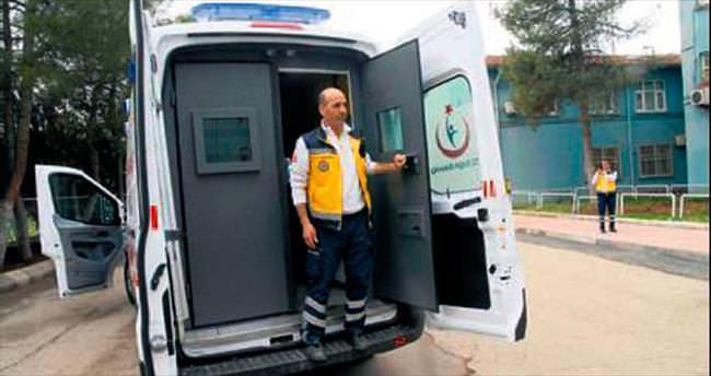 Diyarbakır Sur'a zırhlı ambulans