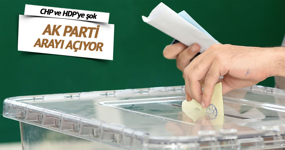 AK Parti muhalefetle arayı açıyor