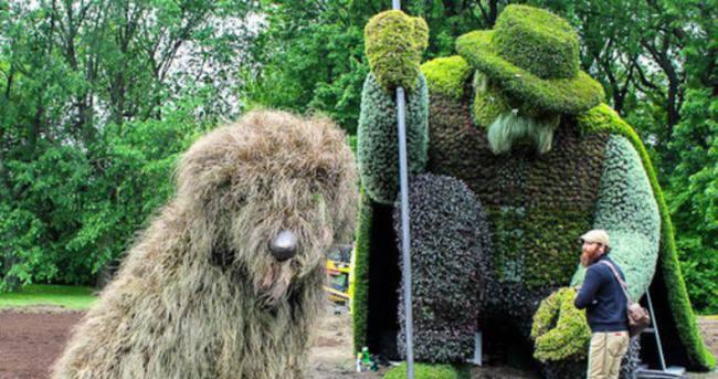 Dünyanın en büyük canlı bitki heykel sergisi EXPO 2016'da