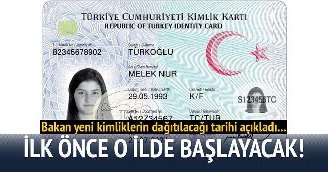 Lütfi Elvan: Yeni kimlik kartlarının dağıtımına başlayacağız