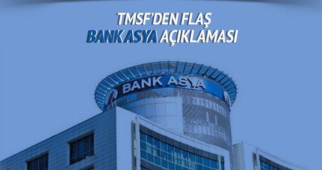 TMSF'den Bank Asya açıklaması