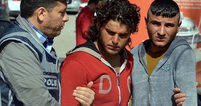 Suriyeli zanlılar adliyeye sevk edildi
