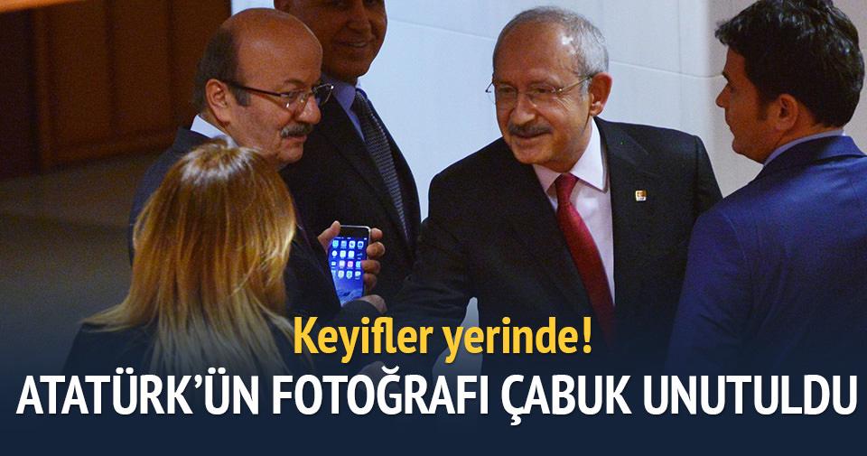 Aylin Nazlıaka Meclis'te görüntülendi