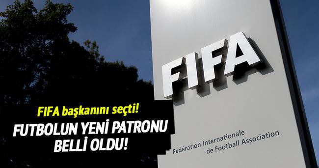 FIFA'nın yeni başkanı Gianni Infantino