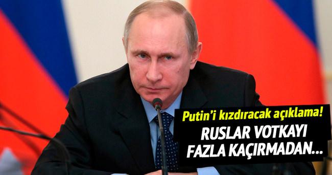 Rusya'ya votkalı ateşkes göndermesi
