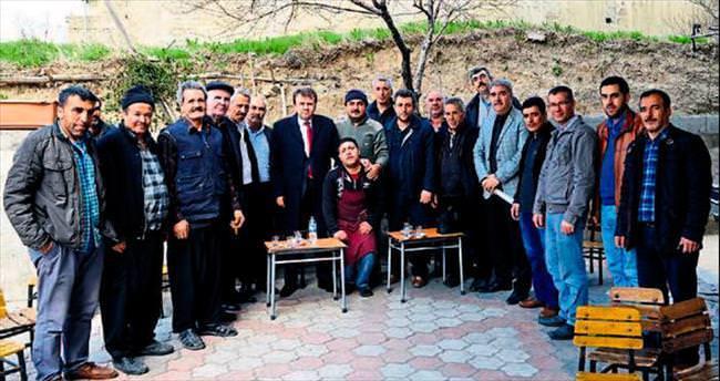 Başkan Fatih Mehmet Erkoç halkın arasında