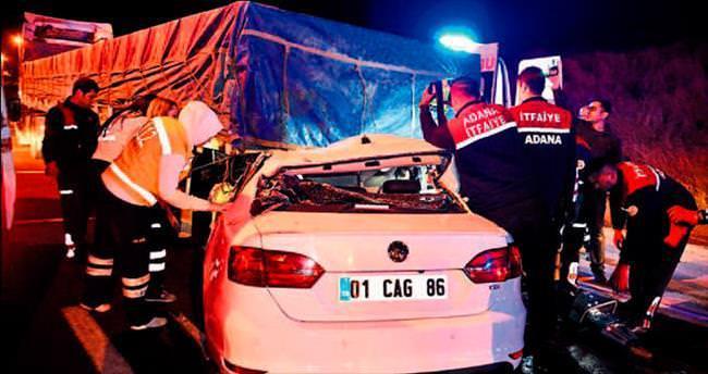 Kazadan 8 gün geçti yaşama tutunamadı