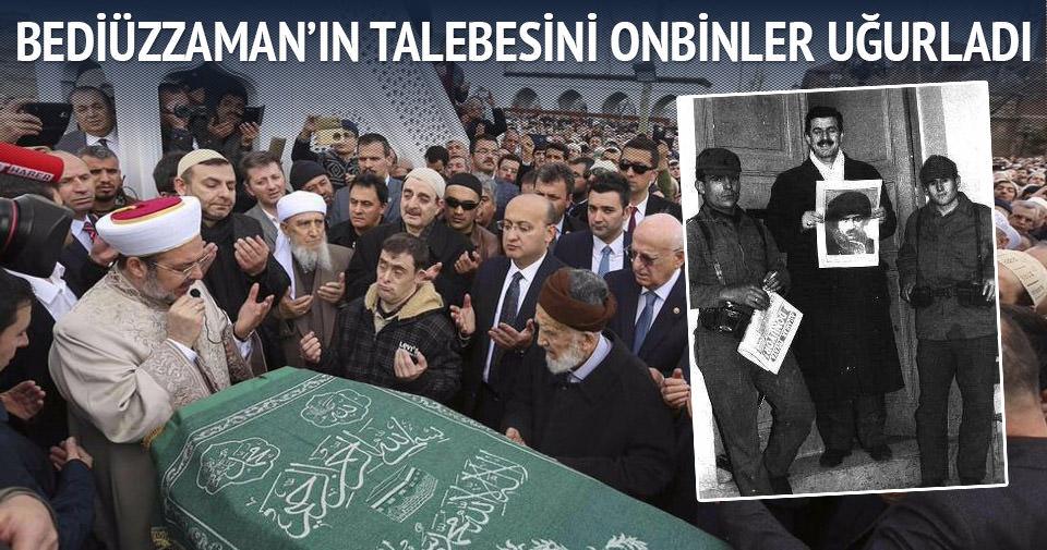 Said Özdemir son yolculuğuna uğurlandı