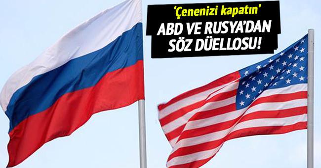Rusya ile ABD arasında söz düellosu!