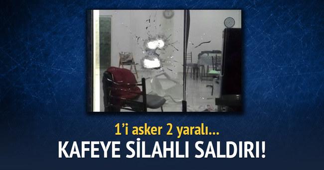 Şırnak'ta kafeye silahlı saldırı!