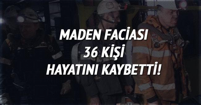 Rusya'da maden faciası: 36 ölü