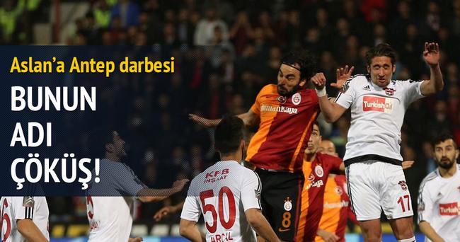 Galatasaray Gaziantepspor deplasmanından çıkamadı