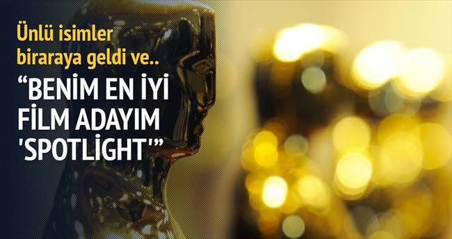 Benim En İyi Film adayım 'Spotlight'