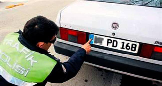 Burdur'da ikiz plaka için alarm