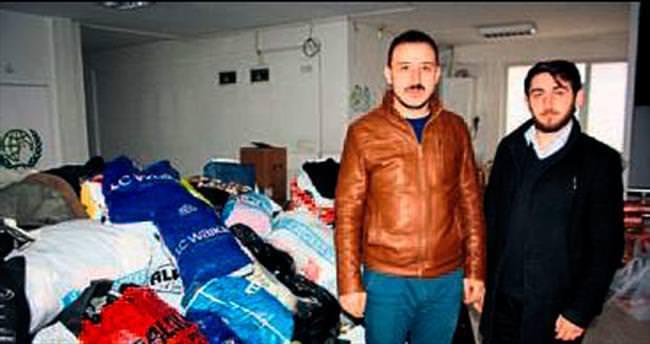 Merhamet TIR'ları Suriye'ye gidiyor
