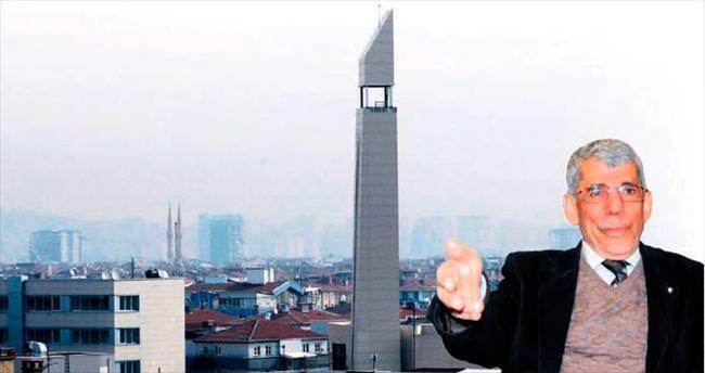 Caminin minaresi aynı kilise çanına benziyor