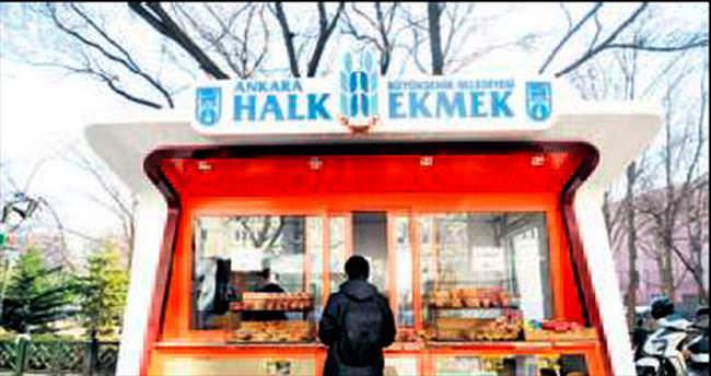 Halk Ekmek satış büfelerini yeniliyor