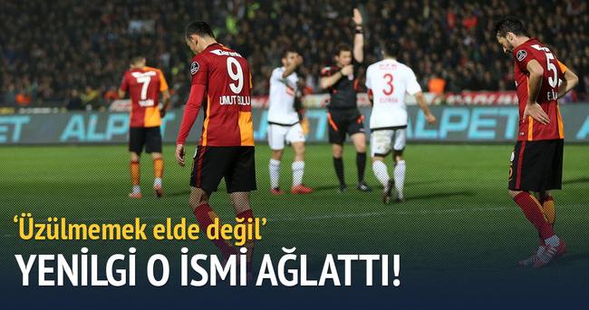 Galatasaray'ın Gaziantep yenilgisi ikinci başkanı ağlattı