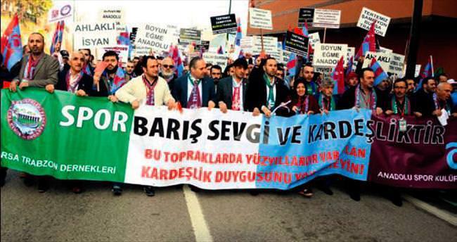 Bursa'da adalet yürüyüşü
