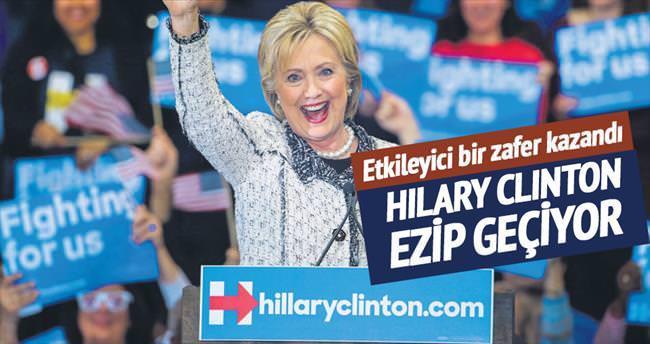 Clinton ezdi geçti