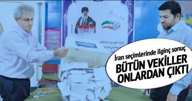 Tahran'daki tüm vekiller reformcuların