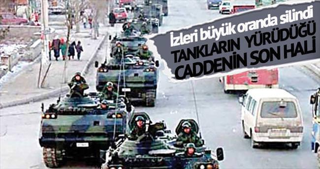 Tankların yürüdüğü o cadde artık Demokrasi Parkı...