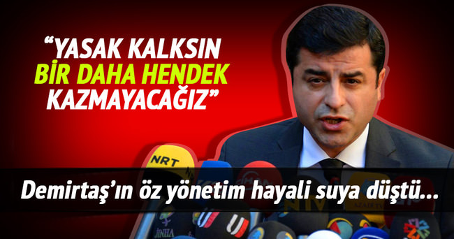 Demirtaş'tan sokağa çıkma çağrısı!