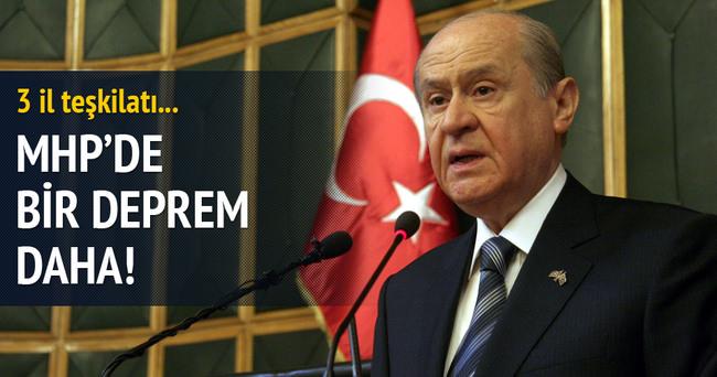 MHP'nin 3 il teşkilatı kapatıldı