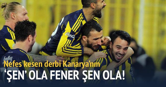 Kadıköy'de dev derbi Fenerbahçe'nin