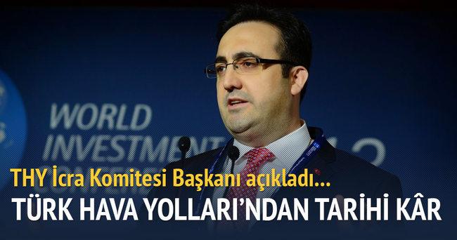 Türk Hava Yolları 2015 yılında tarihi kara ulaştı