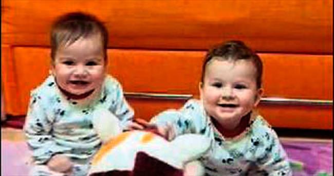 9 aylık ikizlerden biri yangında öldü