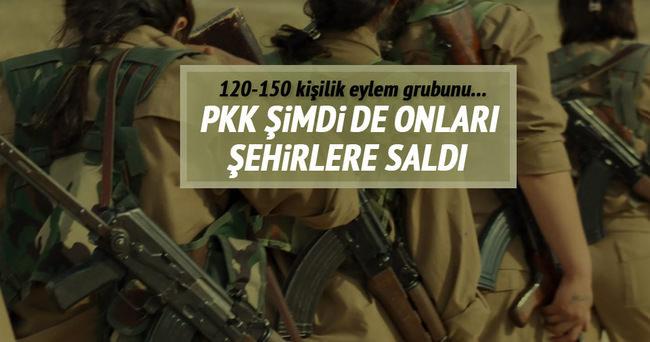 PKK şimdi de onları şehirlere saldı