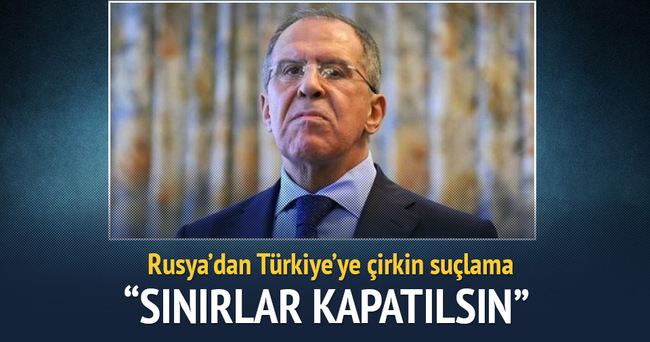 Rusya'dan ''Türkiye-Suriye sınırı kapatılsın'' teklifi