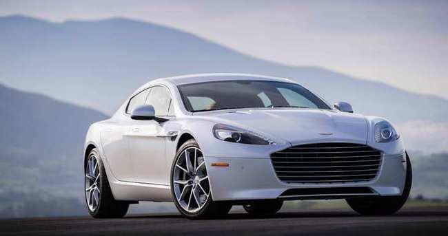 Aston Martin'in Rapide S'i yollarda