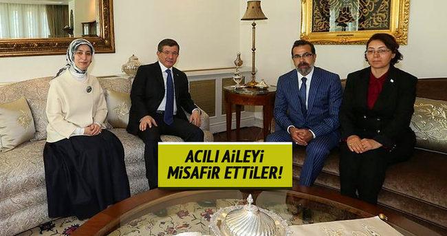 Başbakan Davutoğlu, Özgecan Aslan'ın ailesi ile görüştü