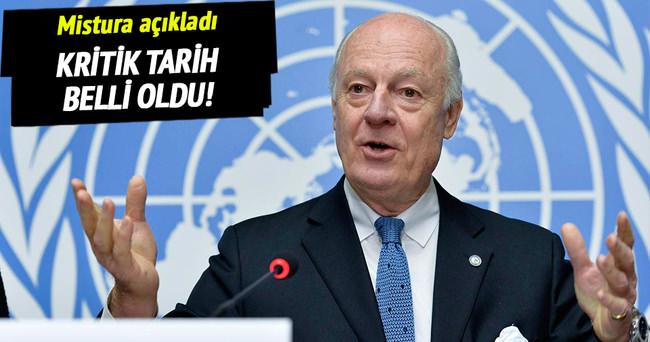 BM özel temsilcisi tarihi açıkladı