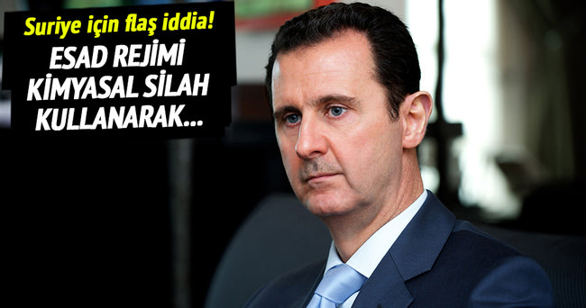 'Suriye rejimi kimyasal silah kullanıyor'