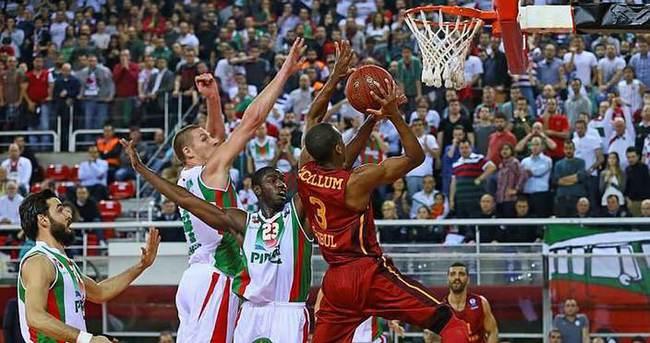 Galatasaray Odeabank farklı turladı