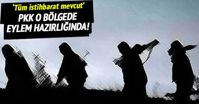 PKK Kuzey Irak'ta eylem hazırlığında!